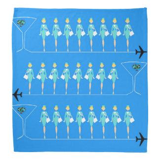 Classic Flight Attendant Bandana