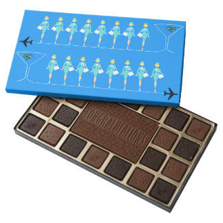 Classic Flight Attendant Box of Chocolate