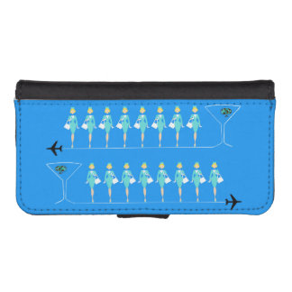 Classic Flight Attendant iPhone Wallet Case Phone Wallets