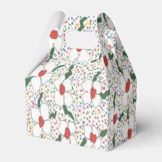 Classic Floral Pattern Favor Box
