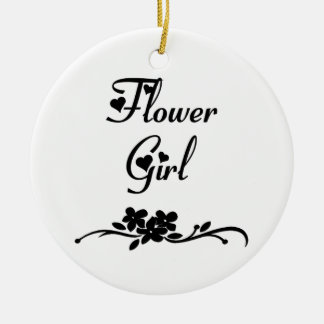Classic Flower Girl Ornaments