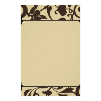 Classic Flower Stationery Design