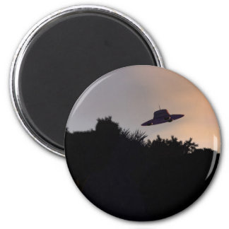 Classic Flying Saucer 2 Magnet