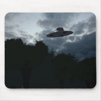 Classic Flying Saucer Mousepad