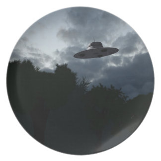 Classic Flying Saucer Plate