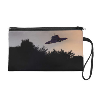 Classic Flying Saucer V2 Bagettes Bag Wristlet Clutches