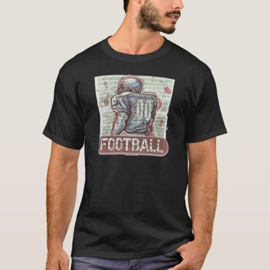 Classic Football 00 by Mudge Studios T-Shirt