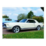 Classic Ford Mustang Post Card