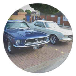 Classic Ford Mustangs Plate