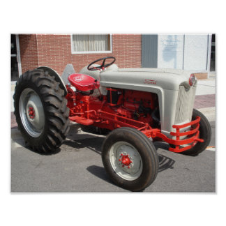 Classic Ford Tractor Poster