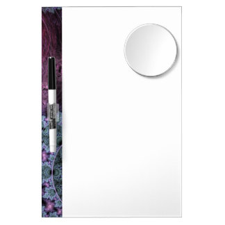 Classic Fractal Pattern Dry Erase Board With Mirror