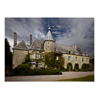 Classic French Chateau, Normandy Posters