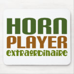 Classic French Horn extraordinaire Mouse Pad