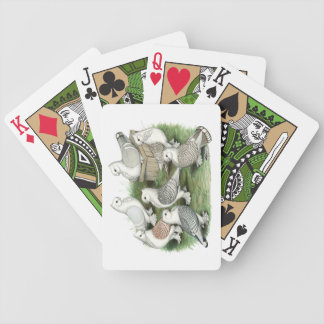 Classic Frill Pigeons Bicycle Playing Cards