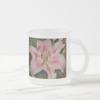 Classic Frozted Mug - Stargazer Lily