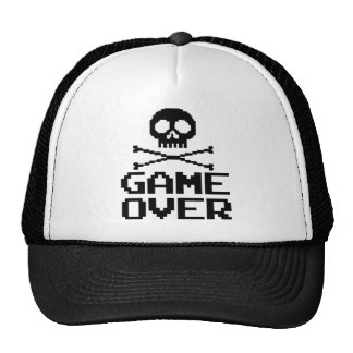 Classic Gamer - Game Over Hats