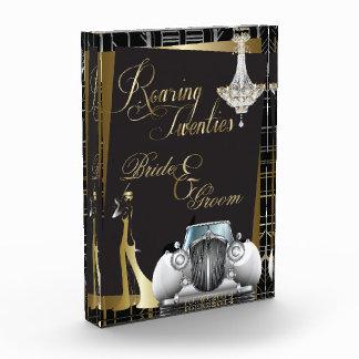 Classic Gatsby Deco Wedding  Memento Awards