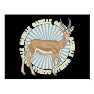 Classic Gazelle Postcard