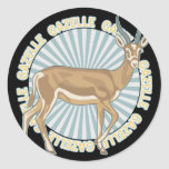 Classic Gazelle Stickers