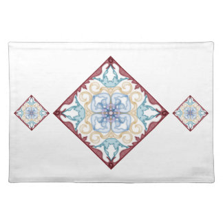 Classic Geometric Moroccan - Placemat 1 Cloth Place Mat