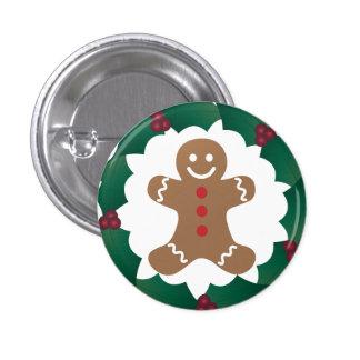 Classic Gingerbread Man Pin