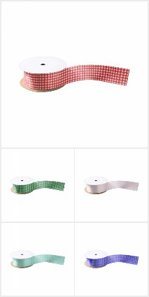 classic gingham ribbons