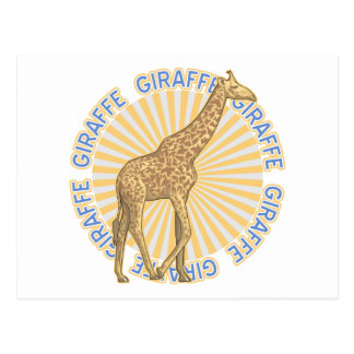 Classic Giraffe Postcards