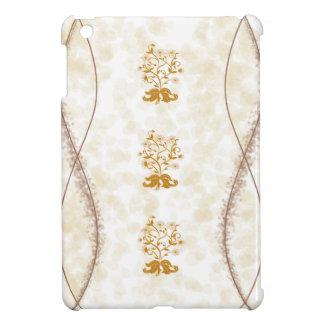 Classic Gold Flowers Trees iPad Mini Cases