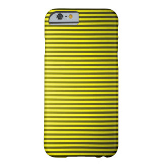 Classic Gold Pinstripe Barely There iPhone 6 Case