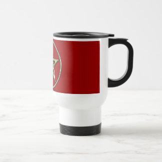 Classic Golden Pentagram Mug