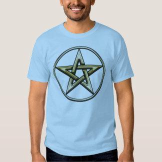Classic Golden Pentagram T-Shirt