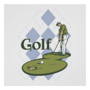 Classic Golf Posters