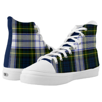 Classic Gordon Dress Plaid High Tops