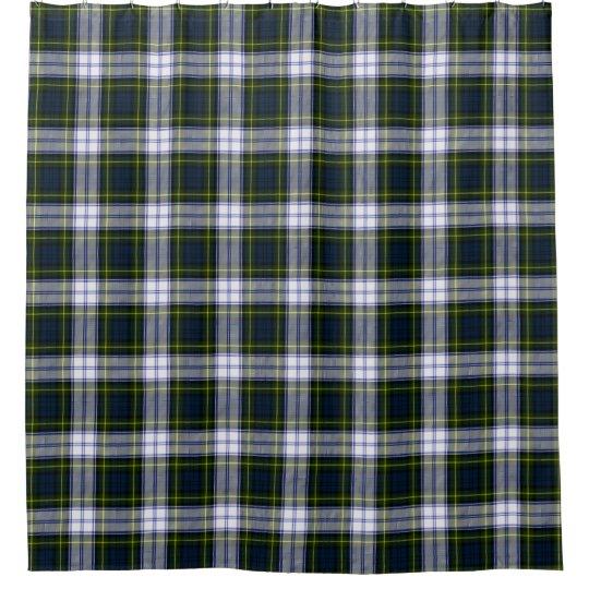 Classic Gordon Dress Tartan Plaid Shower Curtain | Zazzle.com