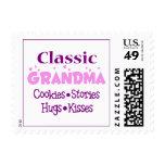 Classic Grandma Postage Stamp