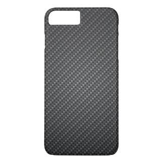 Classic Graphite Fiber Texture iPhone 7 Plus Case