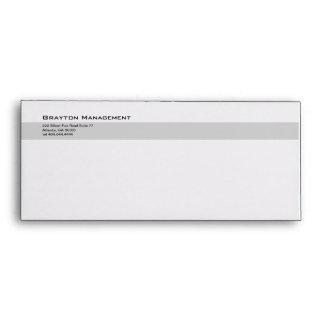 Classic Gray Divider 4 Envelop #10 Envelope