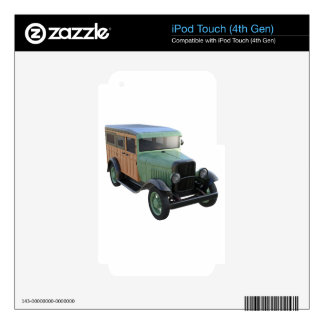 Classic Green Woody Truck iPod Touch 4G Skin