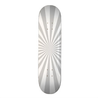 Classic Grey Burst Spinning Wheel Customize This! Skateboard Deck
