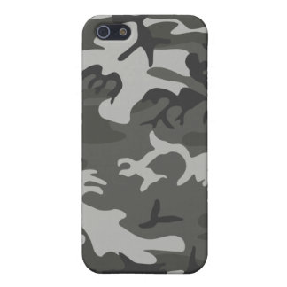 Classic grey camo style iphone case case for iPhone 5