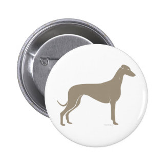 Classic Greyhound Silhouette Buttons