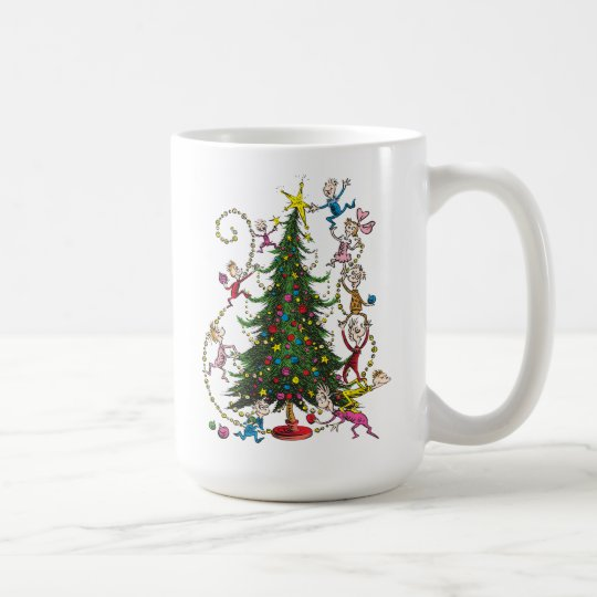 Clic Grinch Christmas Tree Coffee Mug