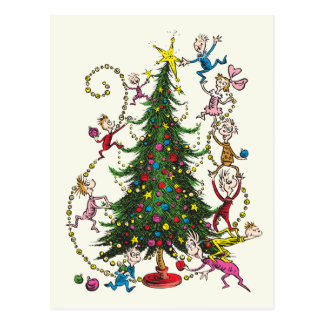 Classic Grinch | Christmas Tree Postcard