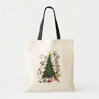 Classic Grinch | Christmas Tree Tote Bag