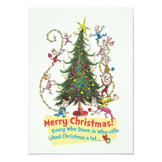 Classic Grinch | Merry Christmas! Card