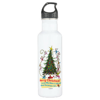 Classic Grinch | Merry Christmas! Stainless Steel Water Bottle