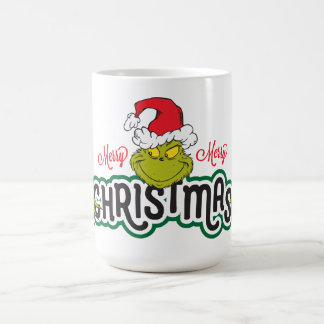 Classic Grinch | Merry Merry Christmas Coffee Mug