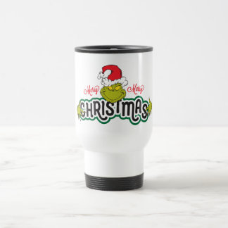Classic Grinch | Merry Merry Christmas Travel Mug