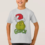 "Classic Grinch | Naughty or Nice T-Shirt<br><div class=""desc"">The holidays will not be complete without The Grinch!  HOW THE GRINCH STOLE CHRISTMAS is a classic story of a town called Who-ville and how the Christmas spirit can melt even the coldest of hearts.</div>"