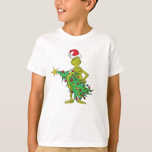 Classic Grinch  Naughty T_Shirt